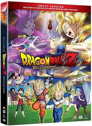 dragon ball z battle of gods dvd