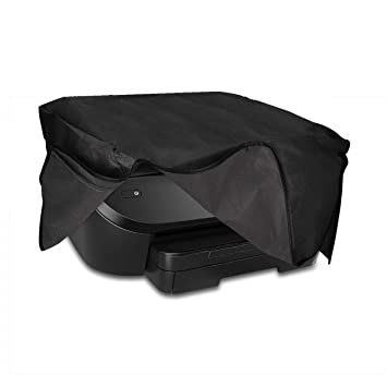kwmobile Funda para HP Envy Photo 6230/7130 - Cubierta Protectora Antipolvo de Impresora - Forro Protector Gris Oscuro