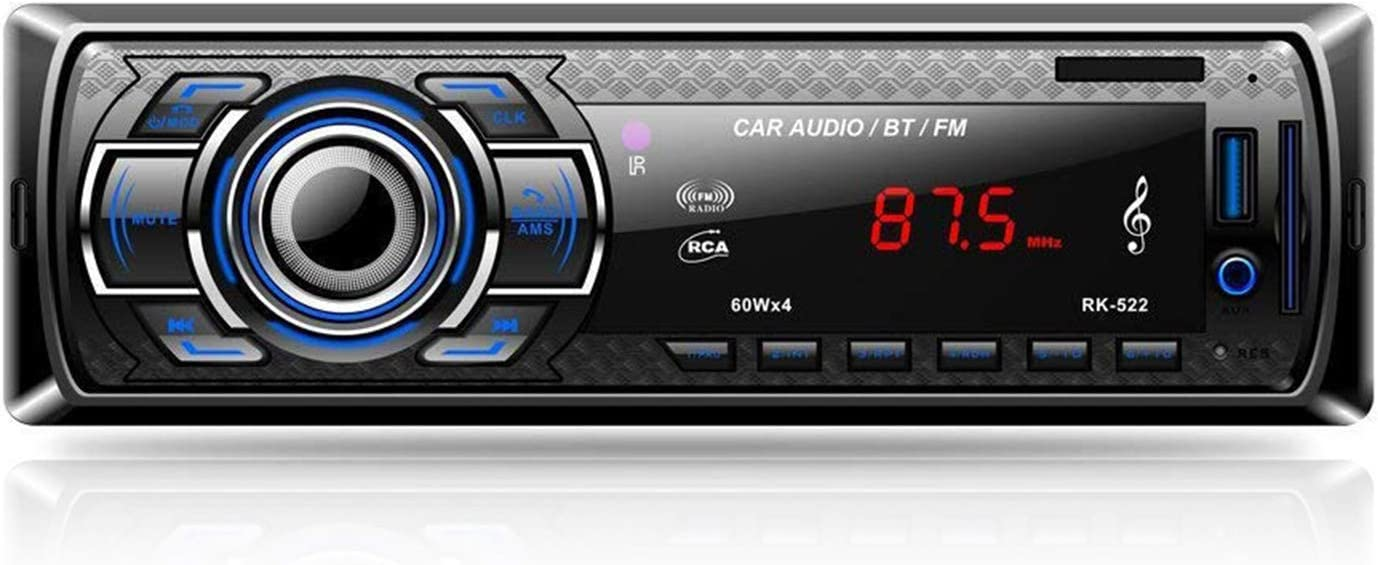 Aigoss Autoradio Mit Bluetooth Freisprecheinrichtung 4 Elektronik