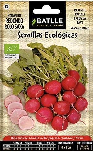 Semillas Ecológicas Hortícolas - Rabanito redondo rojo Saxa - ECO ...