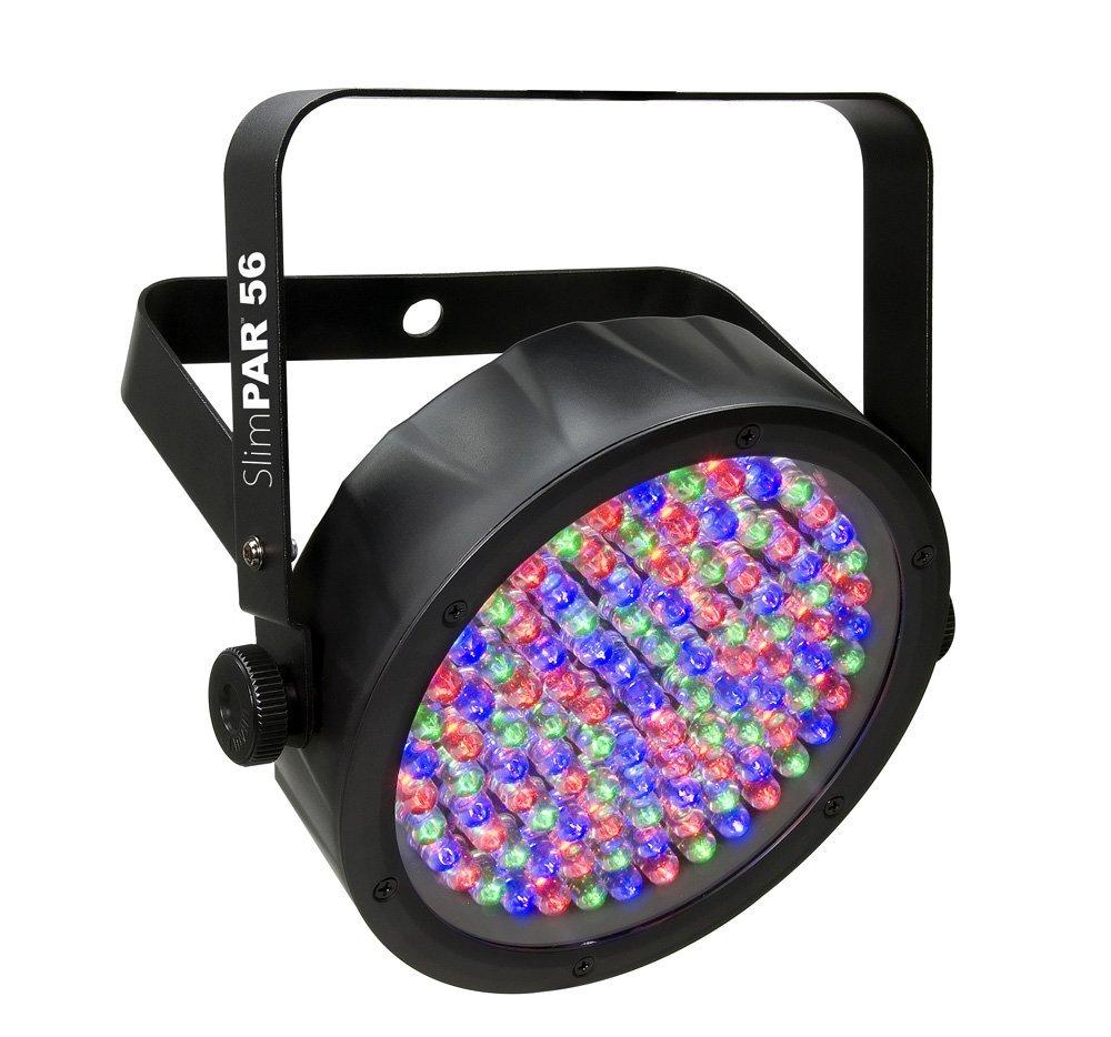 CHAUVET DJ SlimPAR 56 LED PAR Can Wash Light w/Built-In and Sound Activated Modes by CHAUVET DJ
