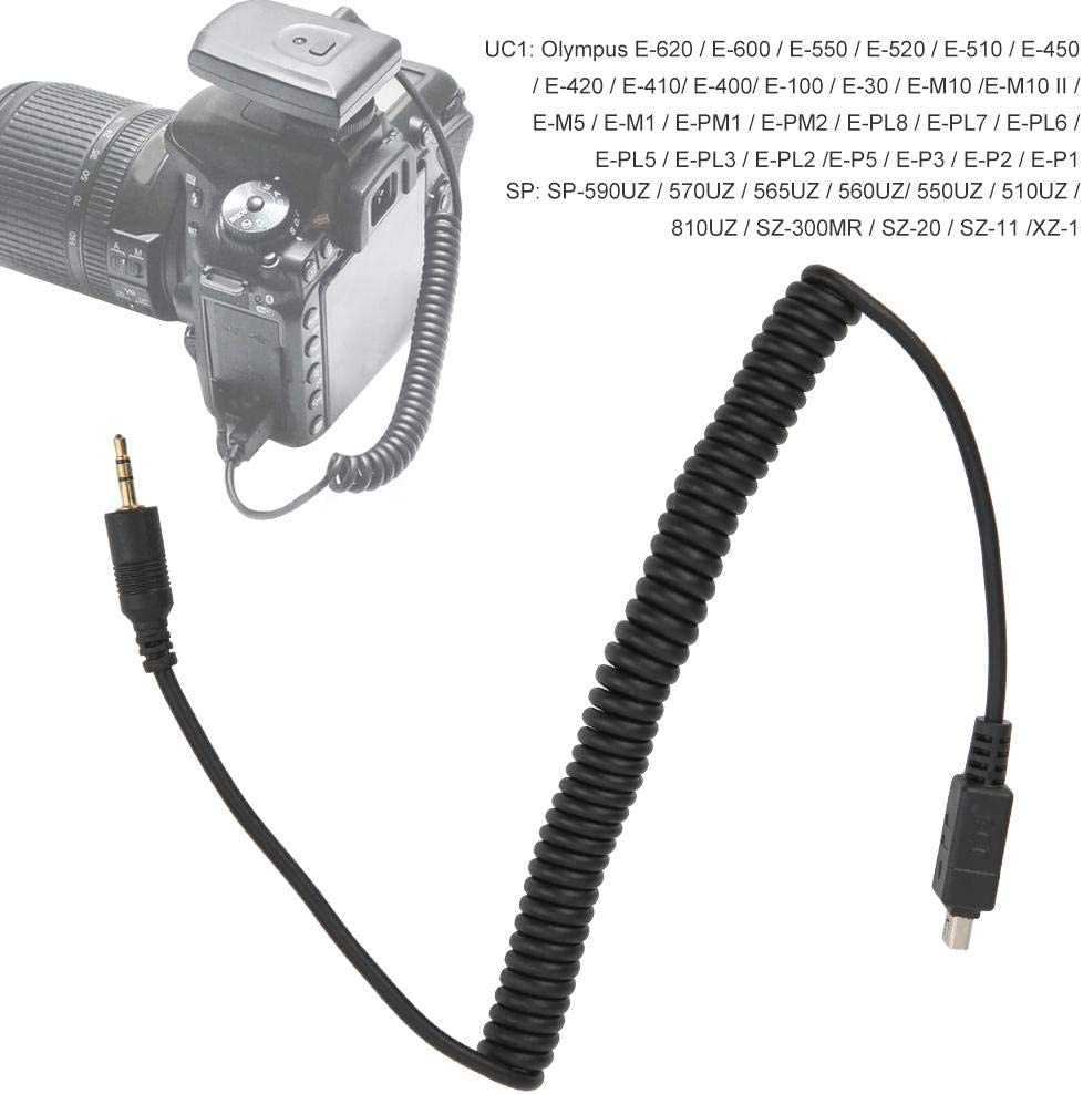 Camera Shutter Flash Trigger Connecting Cable for Olympus for remote shutter interval meter Mugast Camera Shutter Line etc trigger flash timer