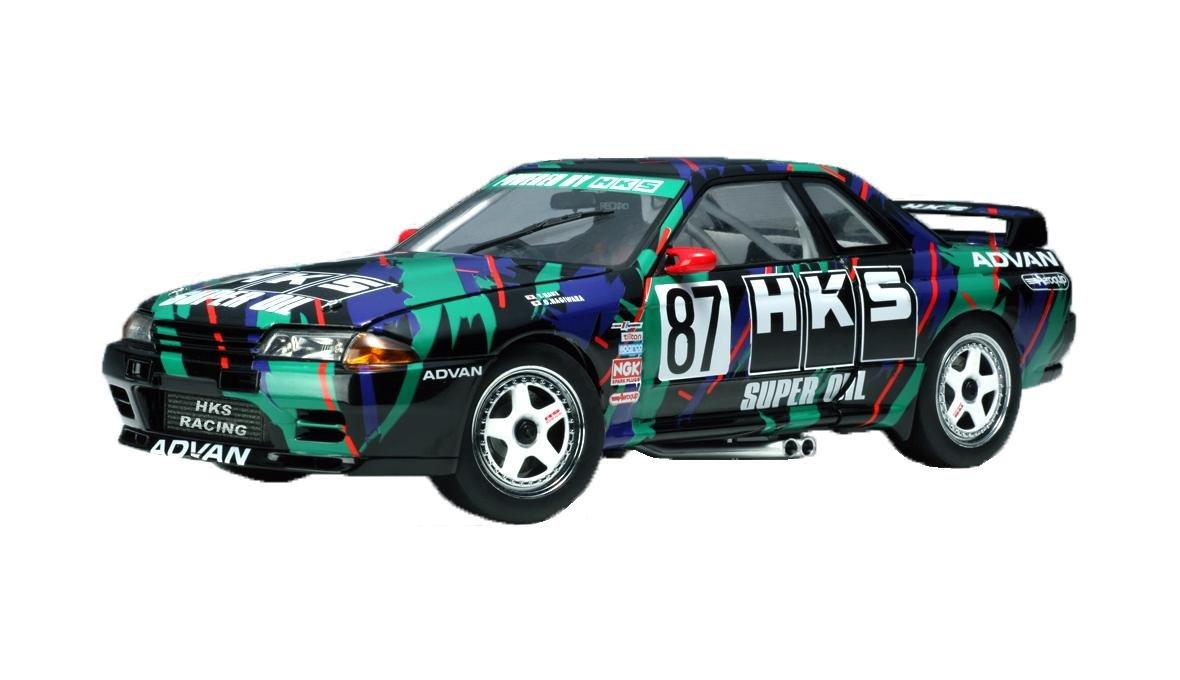 AUTOart 1/18 日産 スカイライン GT-R (R32) '93 グループA #87 HKS 完成品 B000HH02J0