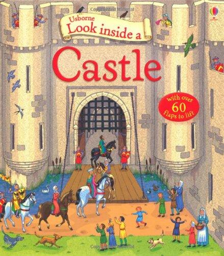 Look Inside a Castle (Usborne Look Inside)