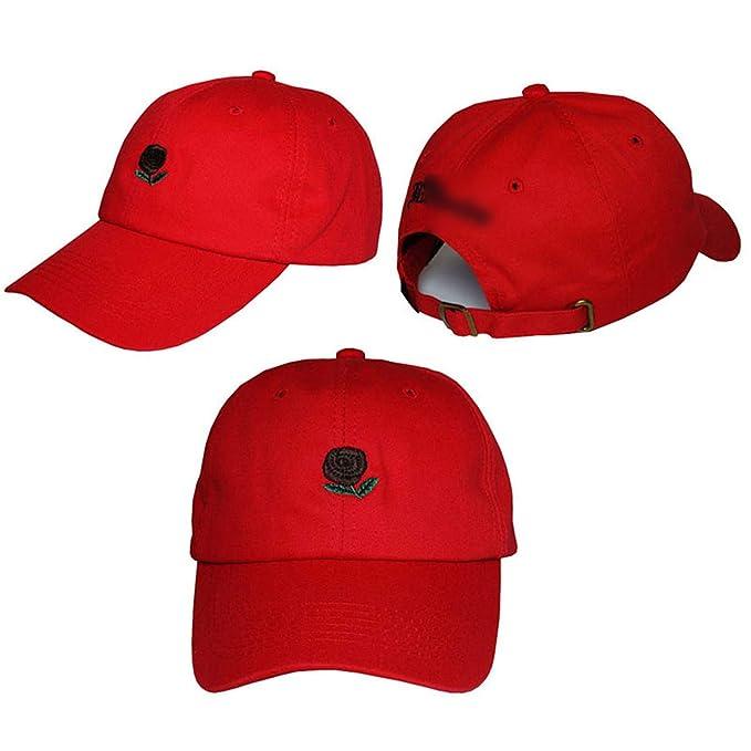 Gorra de béisbol clásica Sombrero de Rosa para Mujeres Gorras Sombrero de  Verano Sombreros para el Sol Gorra Deportiva Sombrero de béisbol de Hombre  Casual  ... 5247f066e97
