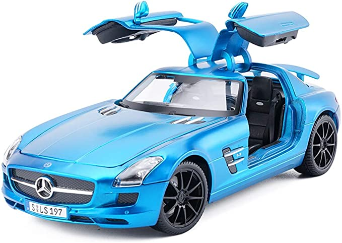 Estatuas 01:18 Mercedes-Benz SLS AMG Modelo del Coche Modelo de ...