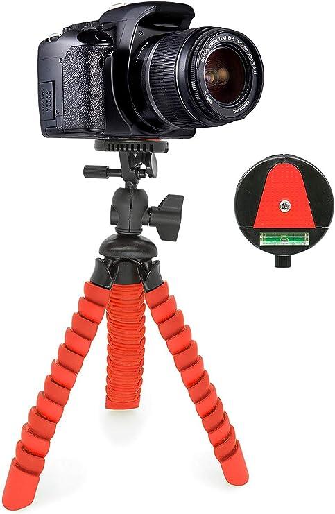 MyGadget Mini Trípode Ultra Flexible Portatíl para Cámara Reflex ...