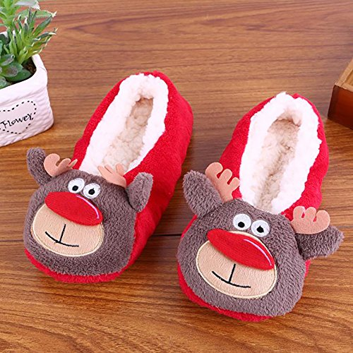 skid Slippers and A Indoor Autumn CHIC Cute Cotton MALL Shoes Anti Winter AqCfFnR