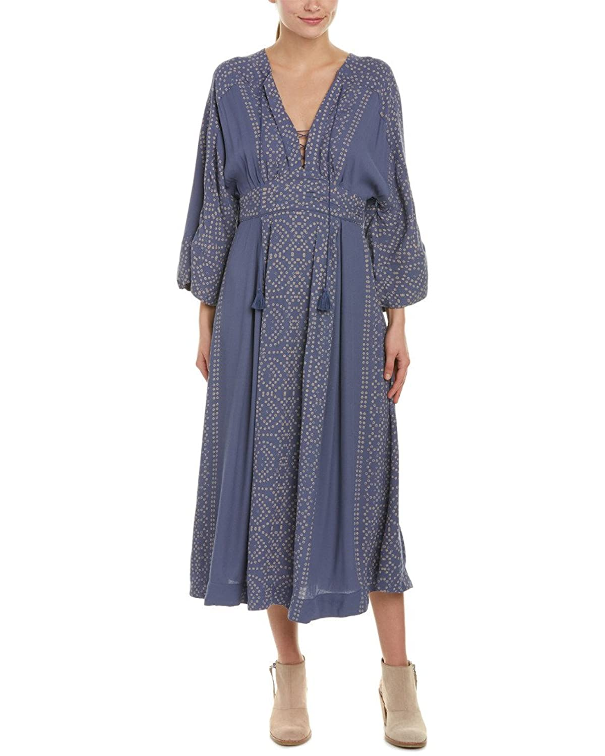 fcb0b97f208b lovely Free People Womens Modern Kimono Printed Lace Up Casual Dress. Abetteric  Women's Slim ...