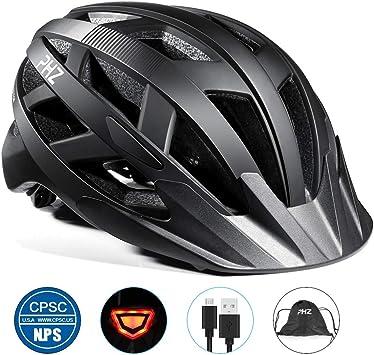 Casco de bicicleta PHZING CE certificado, ajustable, para adultos ...