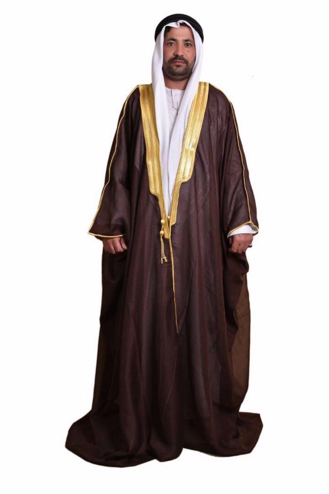 Al Aseel Amazing Mens Islamic Arabian Cloak Bisht