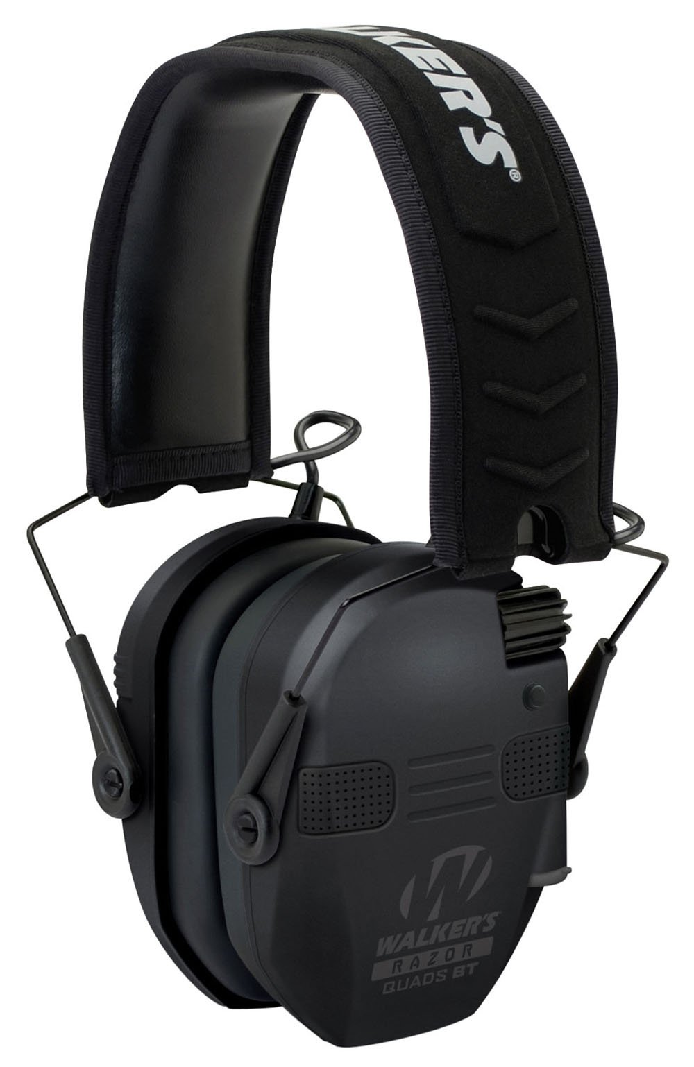 Game Ear Ultimate Series Power Muff Quads Black Earmuff (27dB) by Razor