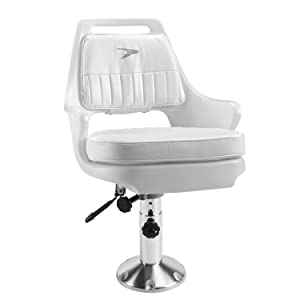 Wise 8WD015-6-710 Standard Pilot Chair with Adjustable Height Pedestal and Seat Slide