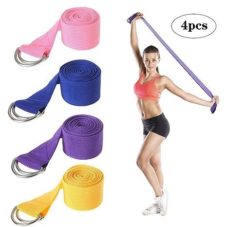 Amazon.com : WYQWANLJX Exercise Yoga Strap, Yoga Stretching ...