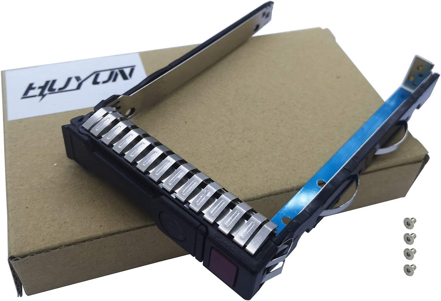 2.5 to 3.5 SSD Adapter 661914-001 for HP 651314-001 SAS//SATA Tray Caddy Compatible with G8 /& Gen9 Server