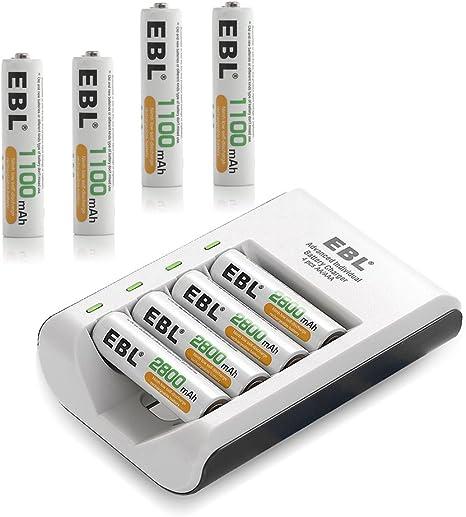 Amazon.com: EBL 807 LED Rapid 4 Bay Individual Smart ...