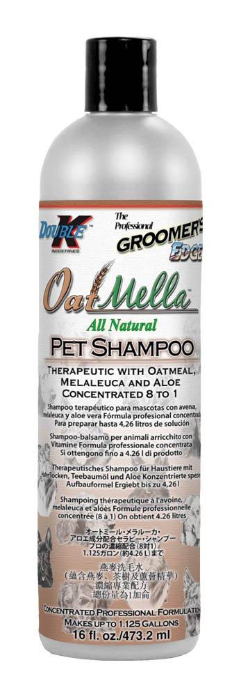 Groomer's Edge Oat-Mella Pet Shampoo, 16-Ounce