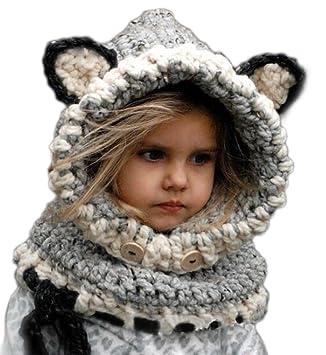 Arrowhunt Kinder Junge Mädchen Schalmütze Tier Mütze Amazonde Baby