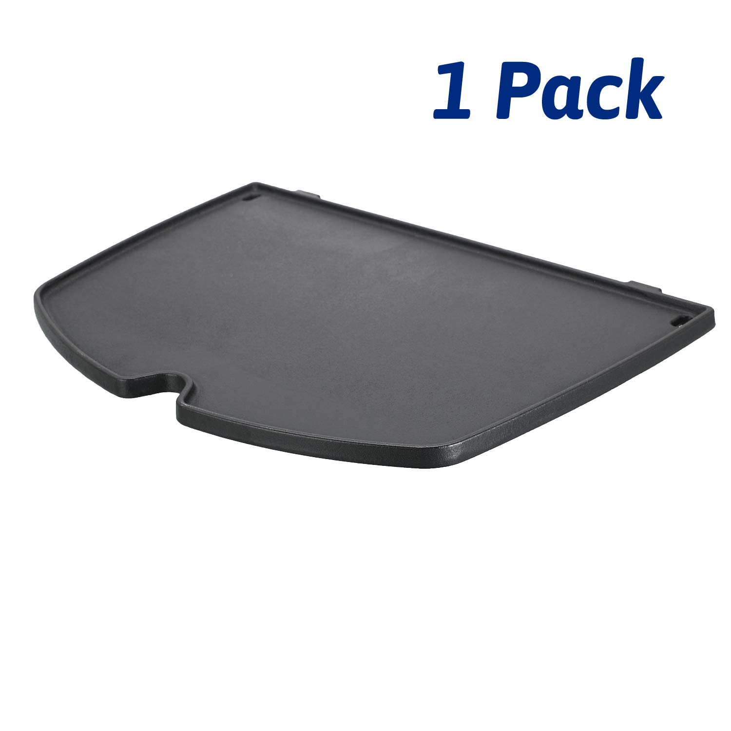 Utheer 6559 Grill Parts Cooking Griddle Cast 15.3 x 10.8 Inch for Weber Q2000 Q2200 Series Gas Grills, Matte Cast Iron by Utheer