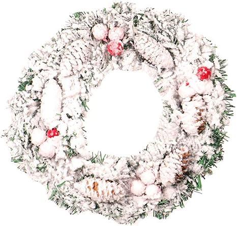 Pine Cones Flowers Wreath Home Decoration Craft Flowers Door Hanging Supplies