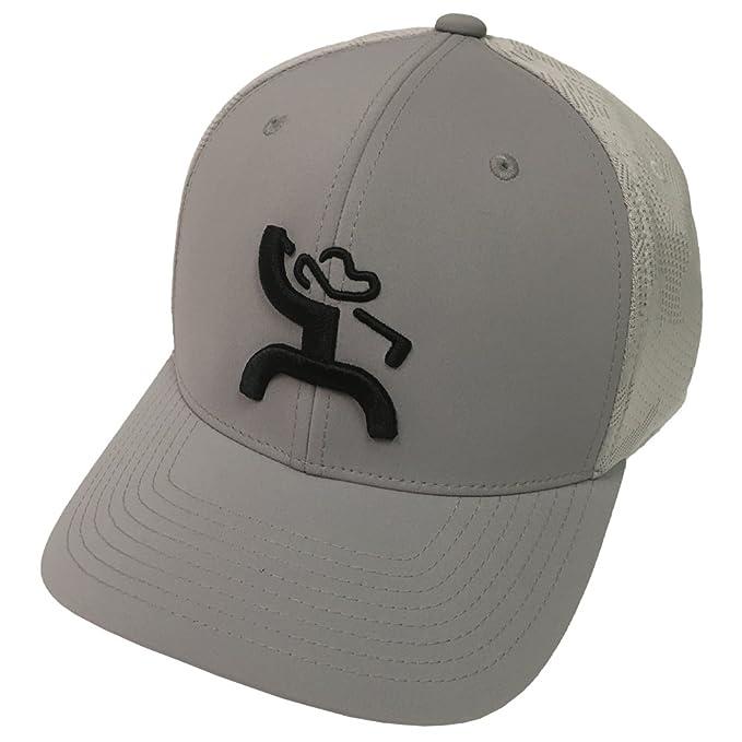 8f0e09d4 HOOey Brand Mosaic Grey/Grey Flexfit Hat - 1836GY