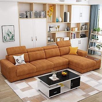 XIAOSUNSUN Meubles de Sofa de Tissu de Tissu de Technologie ...