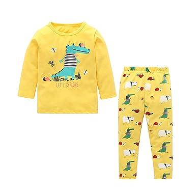 SODIAL Los Nuevos Ni?os Y Ni?as de Dinosaurio Camiseta ...