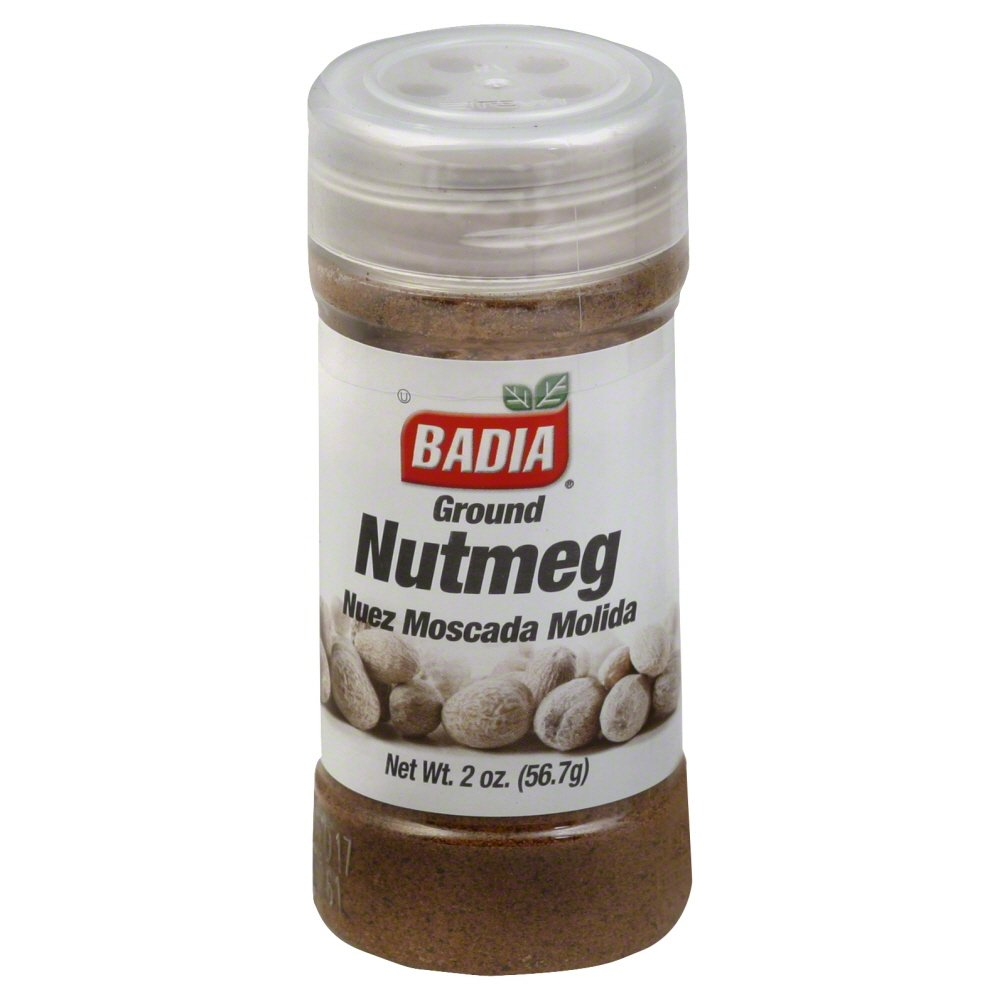 BADIA GROUND NUTMEG 2 0Z CONTAINER-ONE PER PACKAGE (NUTMEG)