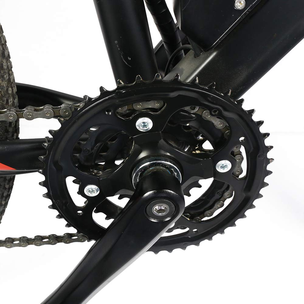 BAFANG BBS01 BBS02 BBSHD Chain Wheel and Replacement Chain Guard Black T42 44T 46T 48T 52T Chainwheel Teeth by BAFANG