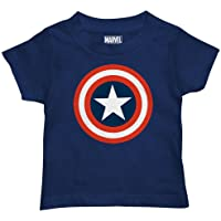 Marvel Boys' Toddler Boys' Captain America T-Shirt