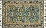 Loloi ZHARZR-12BBNV2676 Zharah Collection Transitional Area Rug, 2'-6'' x 7'-6'', Blue/Navy