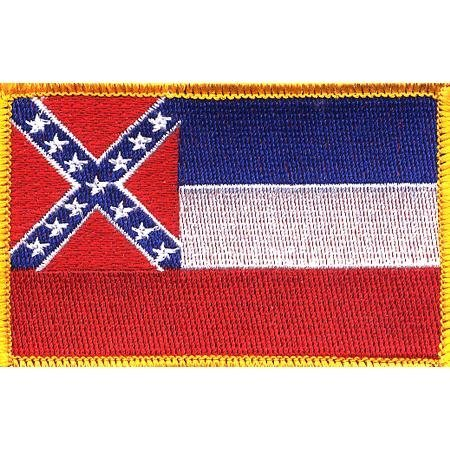 Mississippi State Flag Patch ()
