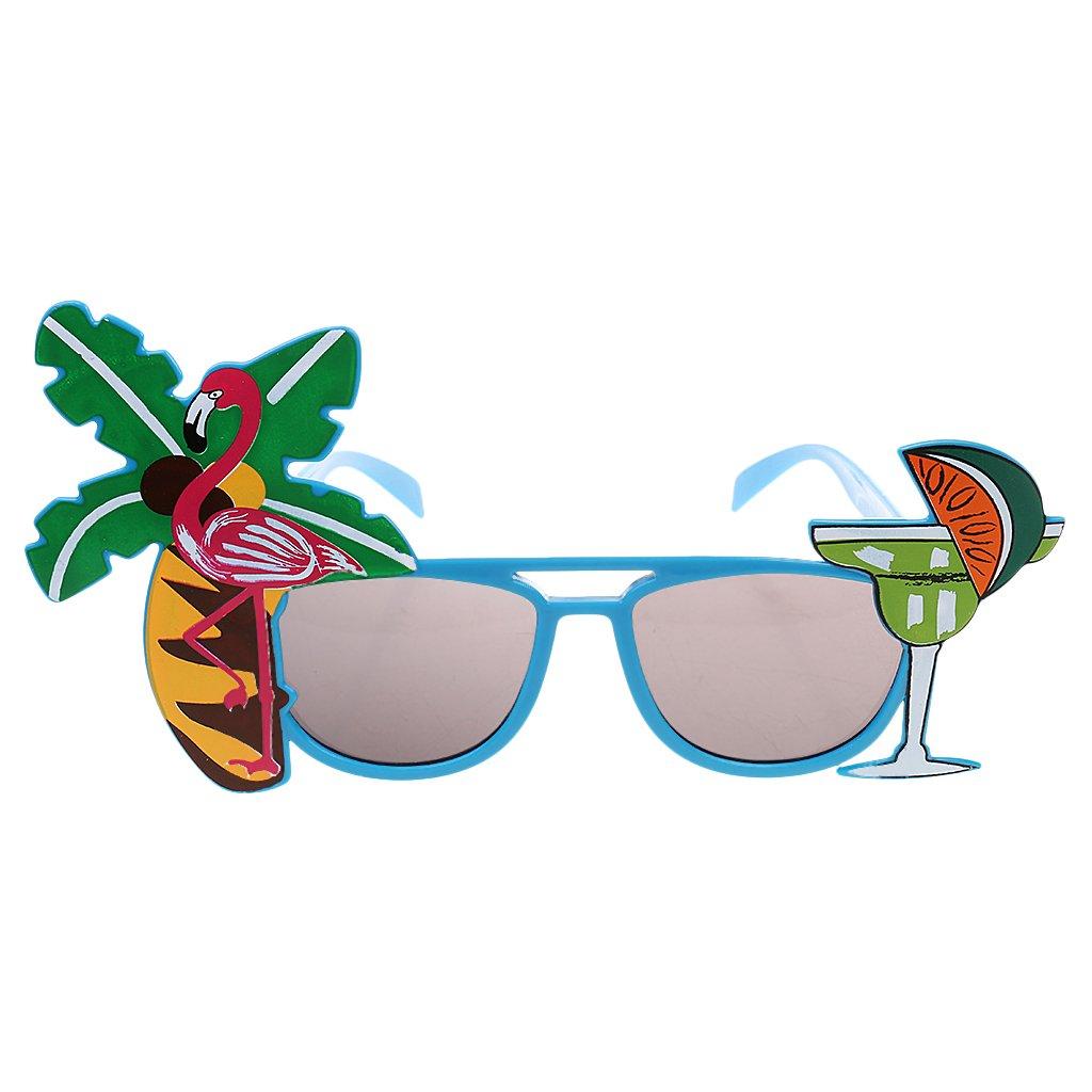 Homyl Lunettes de Soleil Hawaïen Plage Party Déguisement Costume Décor Accessoire Coustume de Fête RJ5HwbGRz