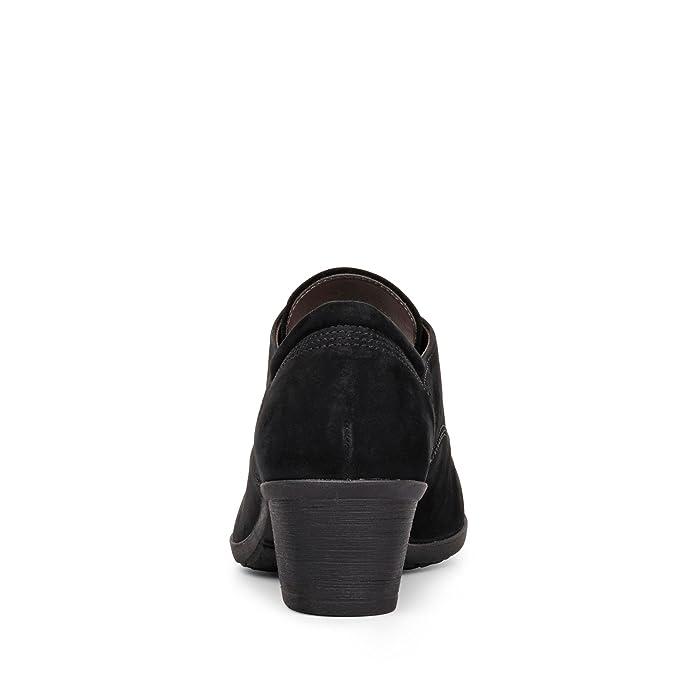 Gabor 74.492.17, Chaussures de ville à lacets pour femme - noir - noir,