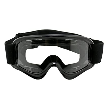 26081992820 Amazon.com  TMS Youth Motocross Motorcycle Dirt Bike ATV MX Off-Road Goggles~Black   Automotive