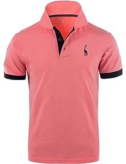 YIPIN Hombre Polo de Manga Corta Color de Contraste Golf Camisa Poloshirt Negocios Camiseta Tennis Verano T-Shirt: Amazon.es: Ropa y accesorios