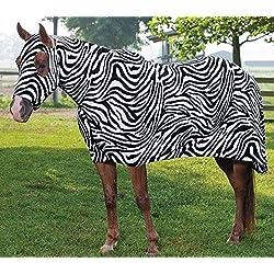 Sleazy Sleepwear for Horses Medium Print Full Body Zebra