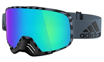 ADIDAS Brille Skibrille Googles ad84 BACKLAND Dirt raw Steel