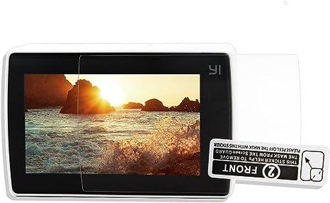 TELESIN 3pcs Protectores de Pantalla para Xiao Yi Sport Cámara Película Protector de Pantalla LCD para Xiaomi Yi 4k Cámara de Acción 2 Accesorios: Amazon.es: Electrónica