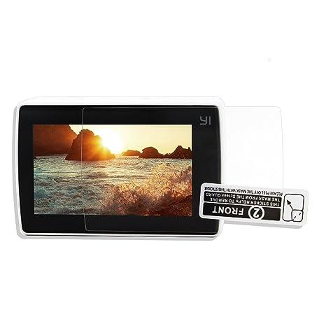 TELESIN 3pcs Protectores de Pantalla para Xiao Yi Sport Cámara Película Protector de Pantalla LCD para Xiaomi Yi 4k Cámara de Acción 2 Accesorios