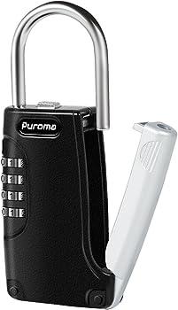 Puroma Key Lock Box Keys Safe Storage Security Combination