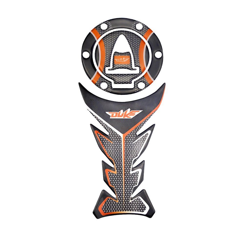 KODASKIN-EU Autocollant de protection de ré servoir de gaz Protecteur Pour KTM 1050 1190 RC8 RC-R SUPERBIKE SUPER DUKE 1290 2010-2014 AVENTURE1 (Un jeu)