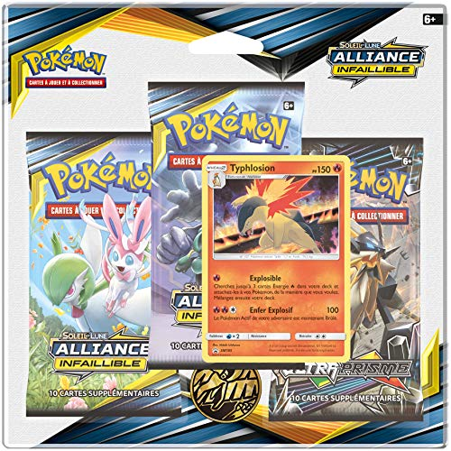 Pokemon PACK01SL10 POK 3 BOOSTERS