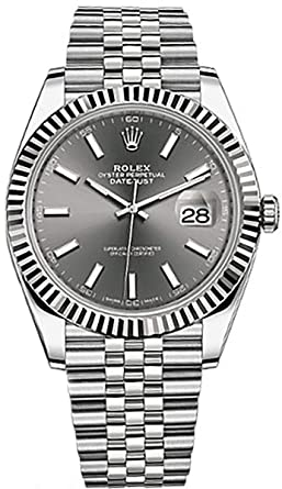fb52970c719 Image Unavailable. Image not available for. Color  Men s Rolex Datejust ...