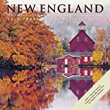 New England 2018 Wall Calendar