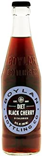 product image for Boylan Soda, Diet Black Cherry, 12 Fl. Oz. (Pack of 12)