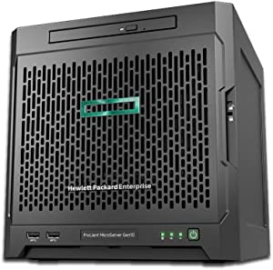 HPE MicroServer Gen10 Tower Server for Business, AMD Opteron X3216 up to 3.0GHz, 8GB RAM, 4TB Storage, RAID