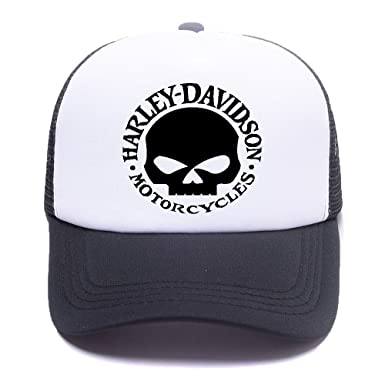 Harley D 1 Black Baseball Caps Gorras de béisbol Trucker Hat Mesh ...