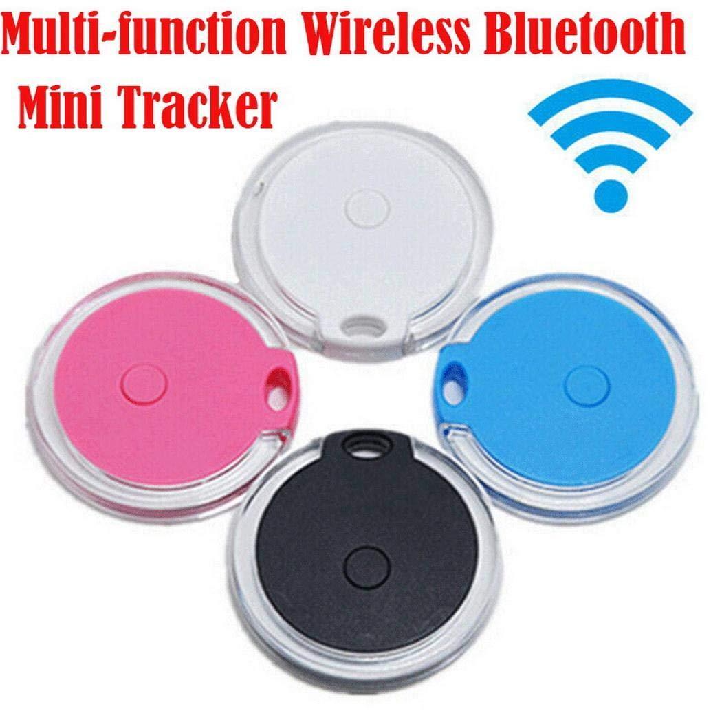 4.2 x 0.8cm minlop Bluetooth Rastreador GPS Coche Ni/ños Mascotas Cartera Buscador de Llaves Anti-Lost Localizador de Alarma Mini Buscador
