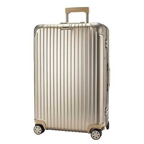 0f9530b1d0 Amazon.co.jp: [ リモワ ] RIMOWA トパーズ チタニウム 82L 924.70.03.4 Topas Titanium  Multiwheel チタンゴールド (シャンパンゴールド) スーツケース 4輪 マルチ ...